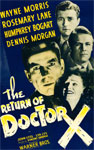 RETURN OF DR. X (1939) - 11X17 Poster Reproduction