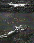 RICOU BROWNING (Swimming Creature) - Autographed 8X10 Photo