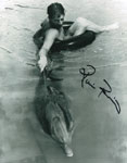 RICOU BROWNING (Flipper) - Autographed 8X10 Photo