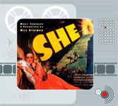 SHE (1935 Soundtrack music by Max Steiner) - CD