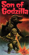 SON OF GODZILLA (1967) - Used VHS