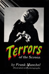 TERRORS OF THE SCREEN (with dust jacket) - Used Hardback Book