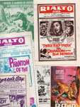 ORIGINAL HORROR MOVIE THEATER AD BILLS - Collectibles