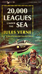 20,000 LEAGUES UNDER THE SEA (1963 edition) - Paperback Book