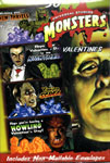 UNIVERSAL MONSTERS VALENTINES (Box of 30) - Collectible