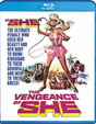 VENGEANCE OF SHE (1967/Hammer) - Blu-Ray