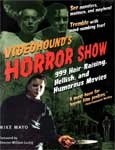VIDEOHOUND'S HORROR SHOW - Massive Softcover Book