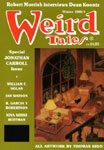 WEIRD TALES (Winter 1990) - Pulp Magazine