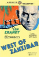 WEST OF ZANZIBAR (1928) - DVD