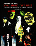 WHAT MUSIC THEY MAKE (Horror Posters) - Oversize Hardback Book