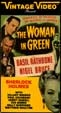 WOMAN IN GREEN, THE (1945) - Used VHS