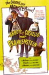 ABBOTT & COSTELLO MEET FRANKENSTEIN (Monster) - 11X17 Poster Rep