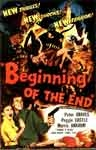 BEGINNING OF THE END (1957) - 11X17 Poster