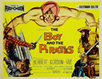 CHARLES HERBERT - BOY & THE PIRATES TC - Autographed Lobby Card