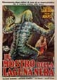 CREATURE FROM THE BLACK LAGOON (1954/Italian) - 11X17 Poster
