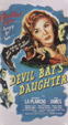 DEVIL BAT'S DAUGHTER (1946) - VHS