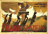 FRANKENSTEIN (1931 Foreign/Graveyard) - 11 X 14 Lobby Card Repro