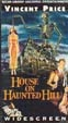 HOUSE ON HAUNTED HILL (1958) - VHS