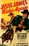JESSE JAMES RIDES AGAIN - 11X17 Poster Reproduction