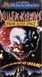 KILLER CLOWNS FROM OUTER SPACE (1988) - VHS