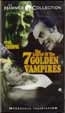 LEGEND OF THE SEVEN GOLDEN VAMPIRES (1974) - Used VHS
