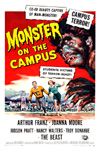 MONSTER ON THE CAMPUS - 11X17 Poster Reproduction