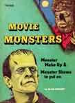 MOVIE MONSTERS by Alan Ormsby - Used Paperback