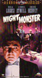NIGHT MONSTER (1942) - Used VHS