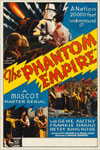 PHANTOM EMPIRE (1935 Mascot Serial) - 11X17 Poster Reproduction