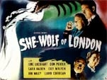 SHE-WOLF OF LONDON (1946/TC) - 11X14 Lobby Card Reproduction