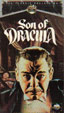 SON OF DRACULA (1943/Portrait Art Box) - Used VHS