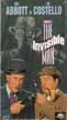 ABBOTT & COSTELLO MEET THE INVISIBLE MAN (1951) - VHS