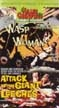WASP WOMAN/ATTACK OF THE GIANT LEECHES - VHS