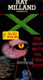 """X"" - THE MAN WITH X-RAY EYES (1963/Warner) - Used VHS"